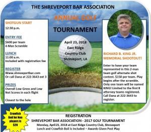 SBA Golf Tournament 2018