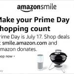 Amazon Smile Prime Day Web Box